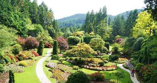 Butcharts Sunken Garden