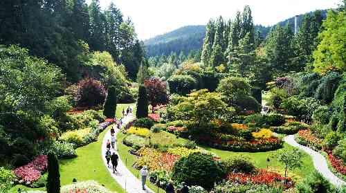 Butchart's Sunken Garden