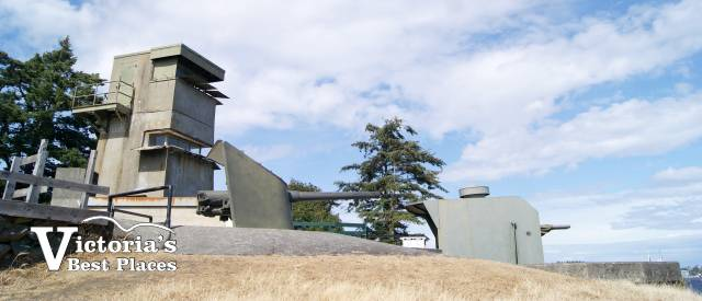 Fort Rodd Hill Battery Structure