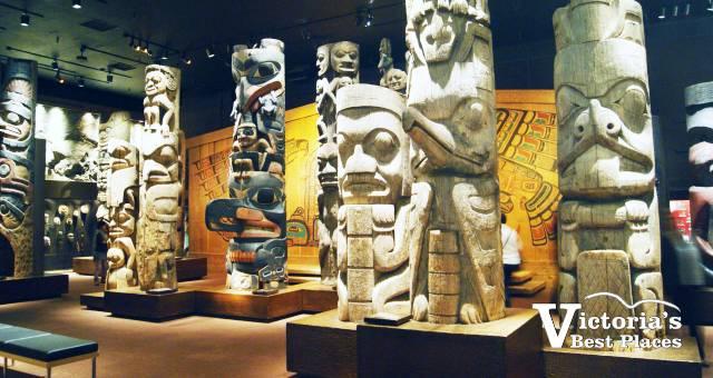 BC Museum Totem Poles