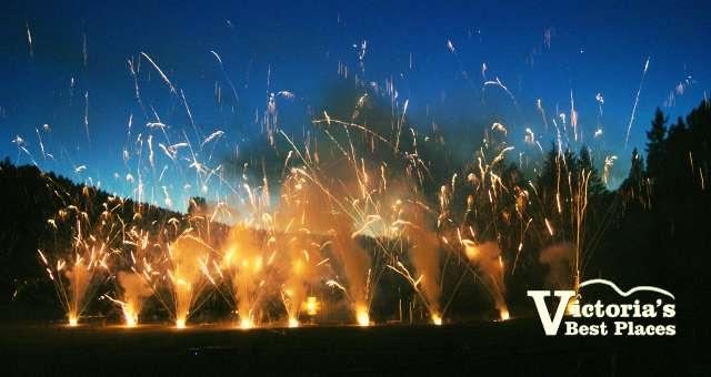 Butchart Gardens Pyrotechnics