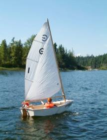 Camp Pringle Sailboat