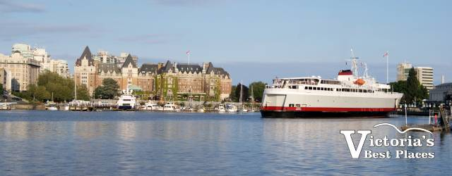 Coho Ferry and Empress Hotel