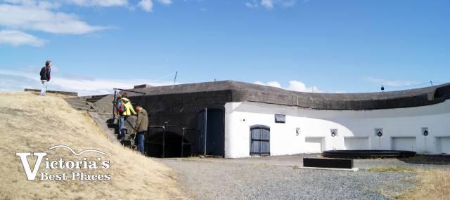 Defenses at Fort Rodd Hill