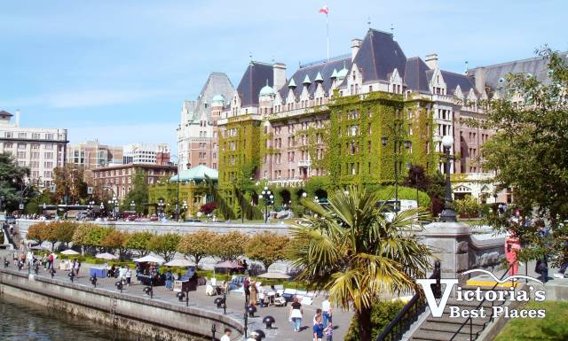 Empress Hotel in the Inner Harbour