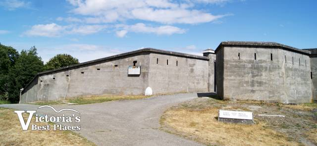 Fort Rodd Hill Armoury Walls