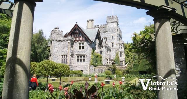 Hatley Castle and Garden Archway