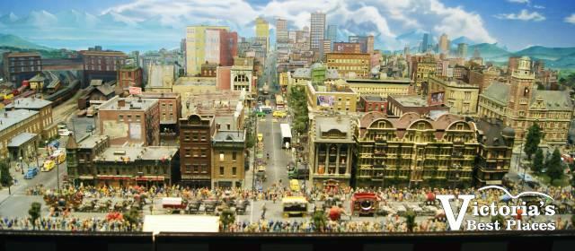 Miniature World City
