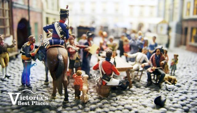 Miniature World European Street Display