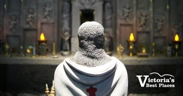Miniature World King Arthur Exhibit