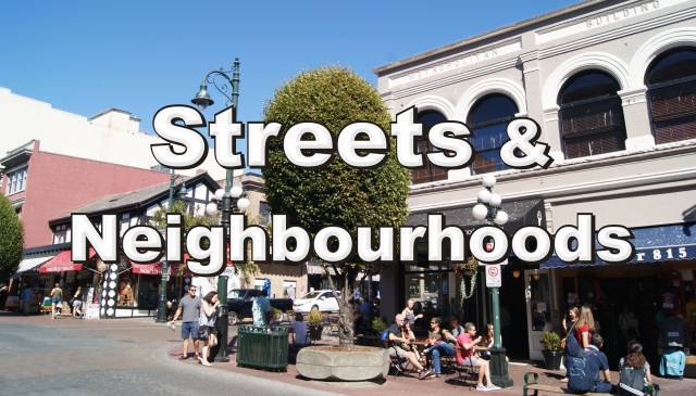 Victoria Streets and Neighbourhoods