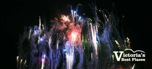 Butcharts Fireworks Display