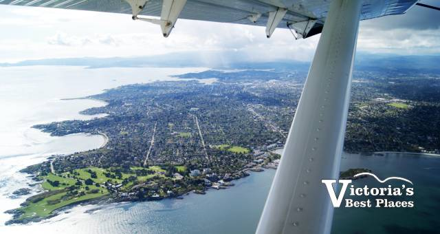 Victoria View from Harbour Air Seaplane
