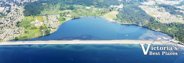 Aerial Photo of Esquimalt Lagoon