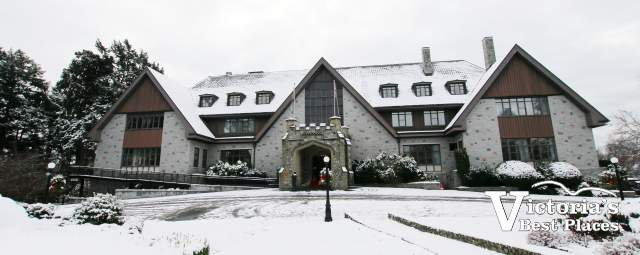 Government House in Snow