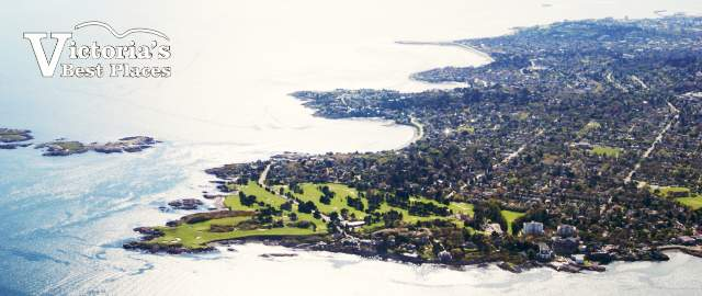Oak Bay Aerial View