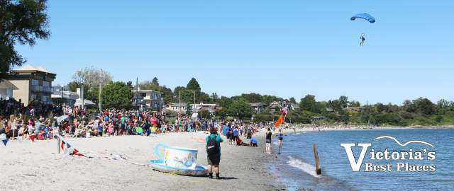 Willows Beach at Oak Bay Tea Party