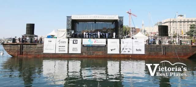 Victoria's Symphony Splash Barge