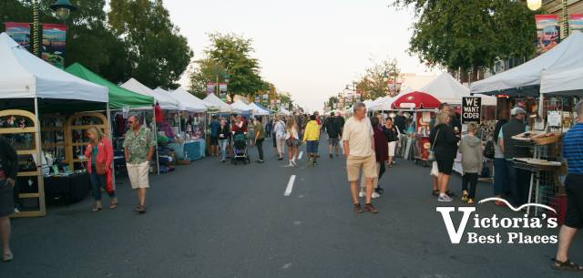 Summer Night Market in Sidney