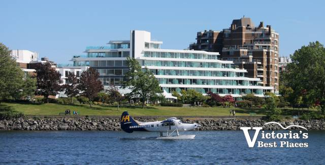 Laurel Point and Harbour Air Seaplane