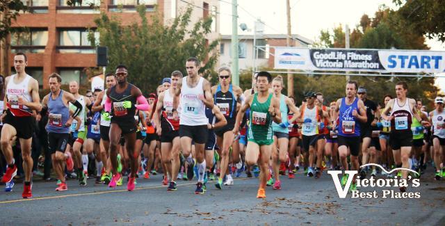 The Victoria Marathon
