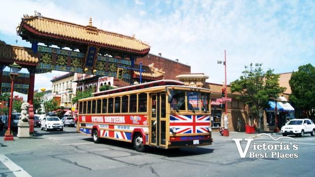 Sightseeing Bus in Chinatown